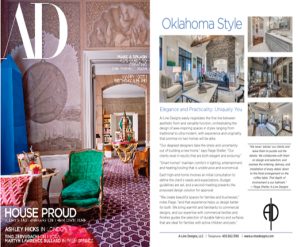 Architectural Digest | Oklahoma Style