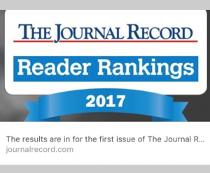 The Journal Record | 2017 Reader Rankings