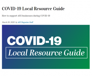 405 Magazine | COVID-19 Local Guide